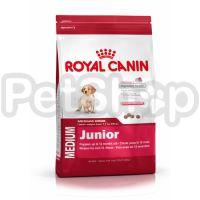 Royal Canin Medium Junior (сухой корм для щенков собак средних размеров  (вес взрослой собаки от 11 до 25 кг) в возрасте до 12 месяцев)