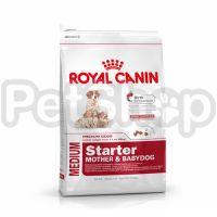 Royal Canin Medium Starter (корм для щенков средних размеров в период отъема до 2-месячного возраста)