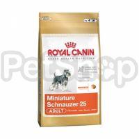 Royal Canin Miniature Schnauzer Adult (полнорационный корм для собак породы миниатюрный шнауцер в возрасте старше 10 месяцев)