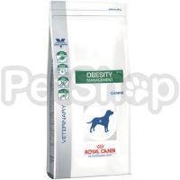 Royal Canin Obesity Management DP34 (роял канин диета для собак при ожирении  (стадия 1)