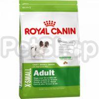 Royal Canin X-Small Adult ( полнорационный сухой корм для собак миниатюрных размеров от 10 месяцев до 8 лет )