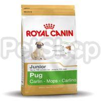 Royal Canin PUG JUNIOR ( роял канин для щенков породы мопса)