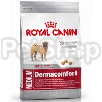 Royal Canin Medium Dermacomfort ( корм для взрослых собак с раздраженной и зудящей кожей средних размеров  (вес собаки от 11 до 25 кг))
