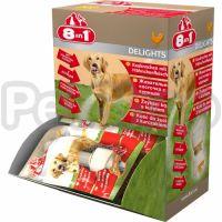 8in1 Europe Delights Bones Chicken XS ( лакомство для собак, являющееся подкормкой и дополнительным уходом за зубами Ваших питомцев)