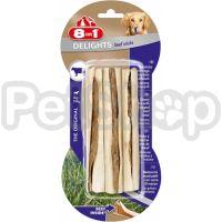8in1 Europe Delights Chew Sticks Beef ( палочки для чистки зубов у собак с гровядиной)
