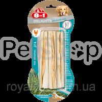 8in1 Europe Delights Pro Dental Sticks (  палочки для чистки зубов у собак с вкусом мяса)