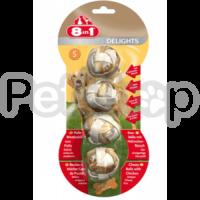 8in1 Europe Delights Balls S ( Жевательные шарики с куриным мясом )