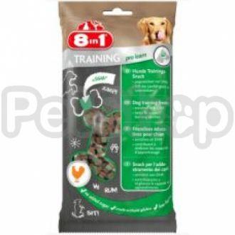 8in1 Europe Training Treats Pro Learn ( Вкусное лакомство для собак в виде косточек, обогращенных DHA)
