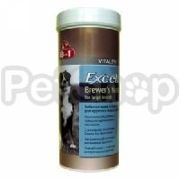 8in1 Europe Excel Brewer's Yeast for large breeds ( Комплексная добавка для собак крупных пород)
