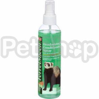 8in1 USA FerretSheen Deodorizing Conditioning Spray ( Дезодорирующий и кондиционирующий спрей для хорьков с ароматом огурца и дыни)