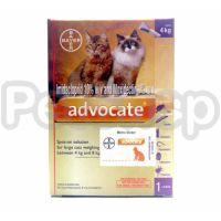 Bayer Advocate для котов Адвокат от блох, клещей, глистов