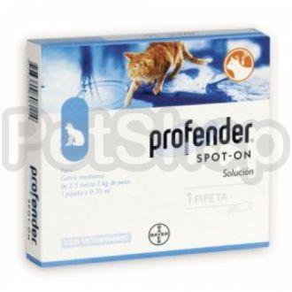 """Bayer Profender Spot-On Профендер Первый """"спот-он"""" антигельминтик для котов широкого спектра действи"""