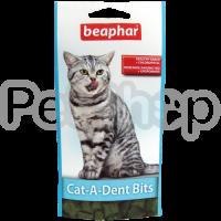 Beaphar Cat-a-Dent Bits ( Подушечки с хлорофиллом для поддержания чистоты и здоровья зубов у кошек)