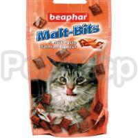 Beaphar Malt-Bits with Salmon ( Очень вкусное лакомство с солодовой пастой со вкусом лосося для кошек)