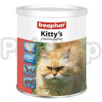 Beaphar Kitty's Taurine-Biotine ( Сердечки Киттис являются здоровым и приятным лакомством для кошек)