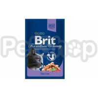 Brit Premium with Cod Fish ( Брит премиум - консерва с треской для взрослых кошек)