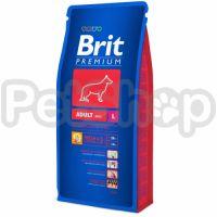 Brit Premium Adult L (брит премиум корм для взрослых собак крупных пород)