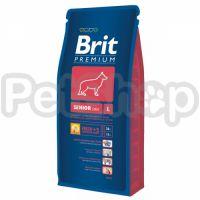 Brit Premium Senior L ( брит премиум корм для стареющих собак  (от 7 лет и старше) крупных пород  (25–45 кг))