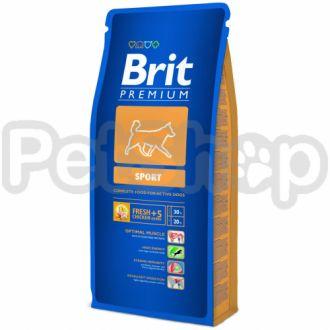 Brit Premium Sport ( брит премиум корм для собак всех пород с повышенной активностью)