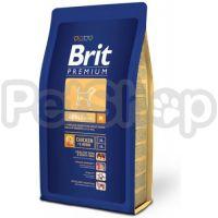 Brit Premium Adult M (брит премиум корм для взрослых собак средних пород)