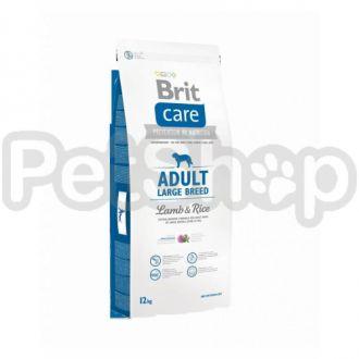 Brit Care Adult Large Breed Lamb & Rice (брит гипоаллергенный корм с ягненком и рисом для взрослых собак крупных пород  (более 25 кг))
