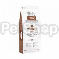 Brit Care Weight Loss Rabbit & Rice ( брит кэа гипоаллергенный корм с кроликом и рисом для собак с избыточным весом)