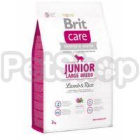 Brit Care Junior Large Breed Lamb & Rice (брит кэа гипоаллергенный корм с ягненком и рисом для молодых собак  (3 месяца – 2 года) крупных пород  (более 25 кг))