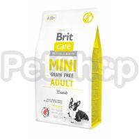 Brit  Care GF Mini Adult Lamb (для собак малых пород) ягненок