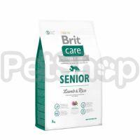 Brit Care Senior Lamb & Rice (брит кэа гипоаллергенный корм с ягненком и рисом для пожилых собак всех пород)