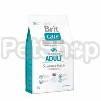 Brit Care Grain-free Adult Salmon & Potato (брит кэа беззерновой корм суперпремиум-класса с лососем и картофелем для взрослых собак)