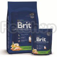 Brit Premium Cat Sterilised ( брит премиум сухой корм с курицей для кастрированных и стерилизованных котов и кошек всех пород)