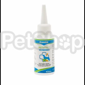 Canina Petvital Verminex ( Препарат для защиты от паразитов - блох, клещей, вшей - собак, кошек, хорьков, грызунов и птиц)