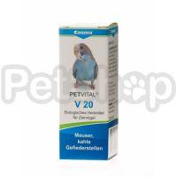 Canina Petvital V20 ( Кормовая добавка для птиц в период линьки)