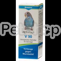 Canina Petvital V90 ( Показания: профилактика против глистов)