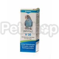 Canina Petvital V30 ( Показания: при простудах, ангине, перхоти, гнойных ранах, общих гнойных процессах, воспалениях глотки, и др)
