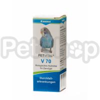 Canina Petvital V70 ( Показания: поносы, нарушения кровообращения)