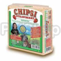 Chipsi Strawberry (опилки с ароматом клубники)