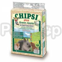 Chipsi Plus Green Apple ( опилки с ароматом зеленого яблока)