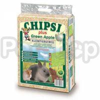 Chipsi Plus Green Apple ( опилки с ароматом зеленого яблока)
