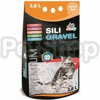 Comfy Sili Gravel ( Силикагелевый наполнитель для туалета с ароматом морского бриза)