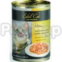 Edel Cat mit Hahnchen und Ente (Эдель кэт консерва для котов курица утка)