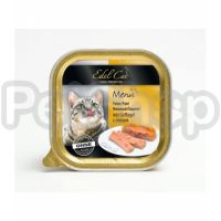 Edel Cat mit Gefluegel (Эдель кэт паштет птица Полнорационный корм для кошек)
