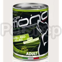 Fop Mono ADULT GUSTO ANATRA E RISO ( Натуральный сбалансированный монобилковий корм для собак)