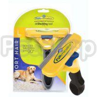 FURminator Short Hair Dog Large ( Фурминатор  подойдет для короткошерстных собак  (вес собаки 20 - 45 кг) и длиной шерсти менее 5,1 см)