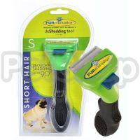 FURminator Short Hair Dog Small ( Фурминатор подойдет для длинношерстных собак  (вес собаки до 9 кг) и длиной шерсти более 5,1 см)