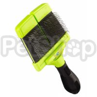 FURminator Large Firm Slicker Brush ( фурминатор  двухсторонняя щетка-сликер)