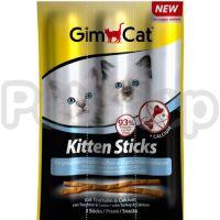 GimCat Kitten Sticks ( мясные палочки для котят с индейкой и кальцием)
