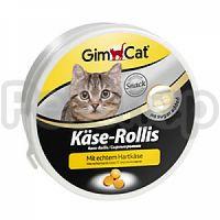Gimpet Kase-Rolli ( Витаминизированные сырные шарики для кошек Джимпет интересная игра и полезное лакомство)