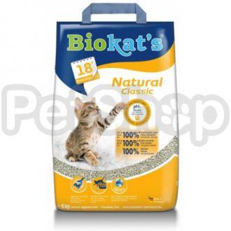 Gimpet Biokat's Natural ( Универсальный наполнитель из  глины)