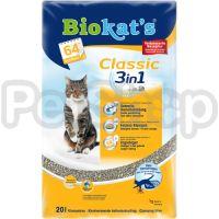 Gimpet Biokat's Classic 3in1 ( Универсальный наполнитель)